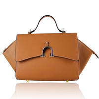 Exception 2013 spring women's genuine leather handbag cowhide handbag cross-body bag shoulder smiley female bags