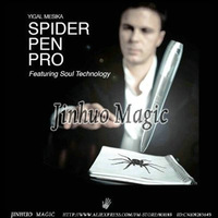 Free shipping Spider Pen with pen gimmick magic the gathering tricks 1pcs/lot for magic props wholesale
