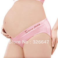 free shipping Superb Pregnant Women Hipster Underwear Unique U Shaped Lingerie Before / Ater Pregnancy Wear