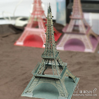 Paper Craft Paper Carving DIY Eiffel Building Model Paper Art Home Decoration Creative ChildrenToy Paris