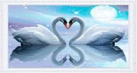 Free shipping, Diamond painting 3d diamond rhinestone pasted painting cross stitch rhinestone pasted square drill