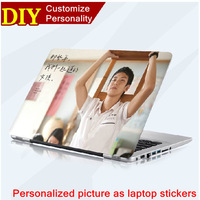 "Unique does not need cutting DIY be customized laptop case film Hot Matching 10"" - 15.4"" Laptop Sticker and Wrist rest Stickers"