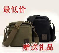 ree shipping black khaki color fashion men's canvas messenger bags/Europe&America Style one shoulder bags m013 retail