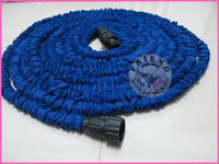 120pcs/lot 25FT free fedex Stretchy Garden Hoses Expandable Flexible Water Hose Free shipping+Drop shipping.free fedex