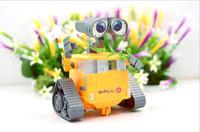 New, children's toys 12 cm WALL-E robot model Wali / Wali, Free shipping