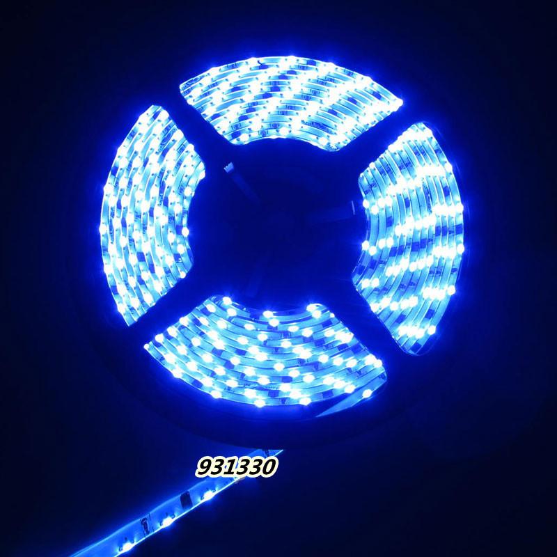 335 Side Emitting LED Strip 5M 300 blue Light Waterproof for Car Decoration 12V(China (Mainland))