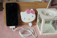 Hello Kitty External Battery Pack Charger,Emergency Cartoon Travel Portable Charger And Adapter Data Line