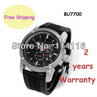New Authentic Endurance Men Chronograph Black Rubber Strap Watch Swiss movement Wristwatch 44mm BU7700 7700
