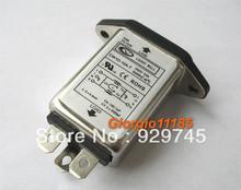 5 pcs finalidade geral ac poder emi filtro de ruído 10 ampères 110v 115v 220v 240v 250v(China (Mainland))