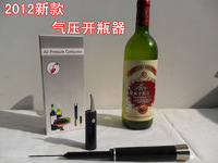 FREE SHIPPING Pneumatic red wine bottle opener corkscrew bottle opener stanniol cutter
