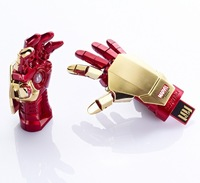 Marvel Iron Man USB drive 16GB 32GB flash memory metal box many gifts free shipping