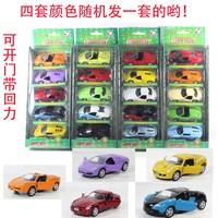 4 alloy car metal car toy WARRIOR set gift