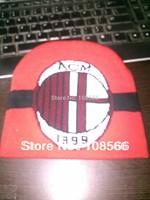 Free shipping ac milan hat / wool hat / cold cap  dropshipping