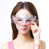 Metal mask beauty princess mask dance party child