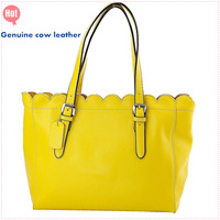 Free shipping Women's Genuine cow leather handbag wholesale Long story brand big star totes shoulder bag for lady