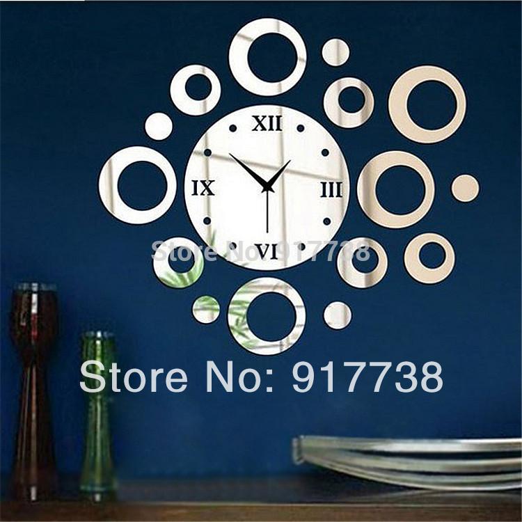 Как сделать часы на всю стену своими руками 998