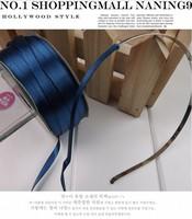 "Free Shipping Min.Order Is $10(Mix Order) 3/16""(5mm)Mix 14 Colors Ribbon Grosgrain Blue Ribbon Hairband DIY"