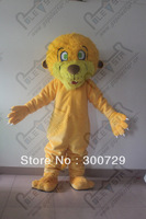 hot sale super quality fur lion costumes lion mascot costumes animal costumes for party