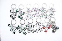 Wholesale -12pcs   Panda Key Chain/Mobile Phone  Free shipping Strap/Pendant