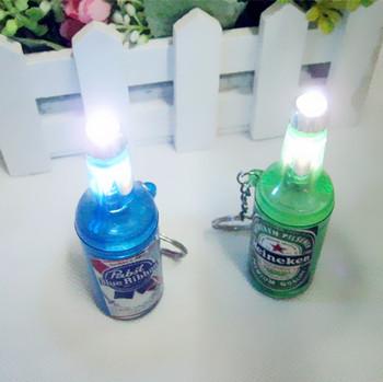 Hot-selling novelty beer bottle lamp kai bottle opener small toy night market
