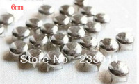 Freeship200PCs silver nail claw 6mm round dome package of shoes accessories rivet punk clothing material.s7791