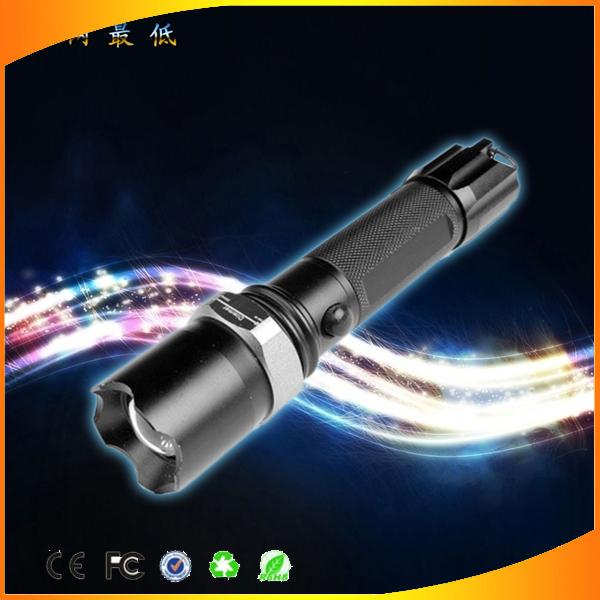 Linterna rechargeable self-defense Flashlight 5 Watt LED Waterproof bike torch Camping Fishing Hiking Mini linterna Flashlight(China (Mainland))