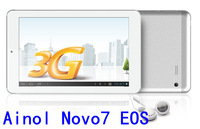 Ainol Novo7 EOS 7'' HD Capacitive  Dual Core built in 3G tablet pc 1GB/16GB Dual Camera Bluetooth GPS Android 4.0 freeshipping