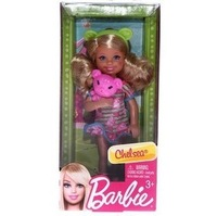 Free shipping Chelsea doll toy cute Chelsea with bear doll toy for Christmas gift The original packaging original package
