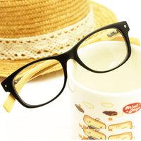 Vintage fashion wood grain eyeglasses frame glasses frame bamboo plain mirror general meters glasses