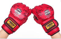 NEW! Hot! free shipping mMa gloves/ boxing gloves/fighting glove/ Training glove #W85111,High strength