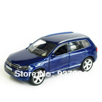 Alloy Car Model 1:32 VW Touareg Toy Vehicle Simulation Pull Back Diecast Inertia Toys Two Doors Free Shipping