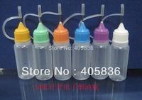 free shipping 2500pcs/lot 10ml Needle cap bottle by Fedex, new LDPE drop bottle