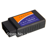 New ELM327 Wi-Fi wifi OBD 2 II Car Diagnostic Interface Scanner Supports with iPhone Android Phone