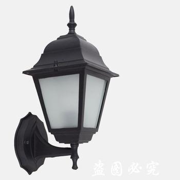 American waterproof wall lamp american style garden lamp rustic balcony antique lamps fashion indoor outdoor