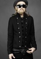 free shipping  2013 personalized cuff punk fashion vintage mens short design woolen slim jacket