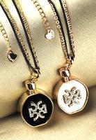 Fashion perfume bottle necklace long necklace design female fashion accessories