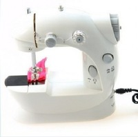 Household electric mini sewing machine with the power transformer multifunctional small sewing machine electric bench 21*20*9
