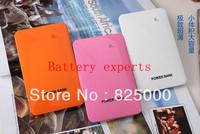 5 PCS portable ultra-thin mobile charging powerbank charging treasure 10000 ma polymer contact free shipping