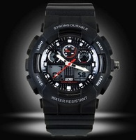 Free shipping 2013 sports timing multifunctional military style men's fashion gift watches