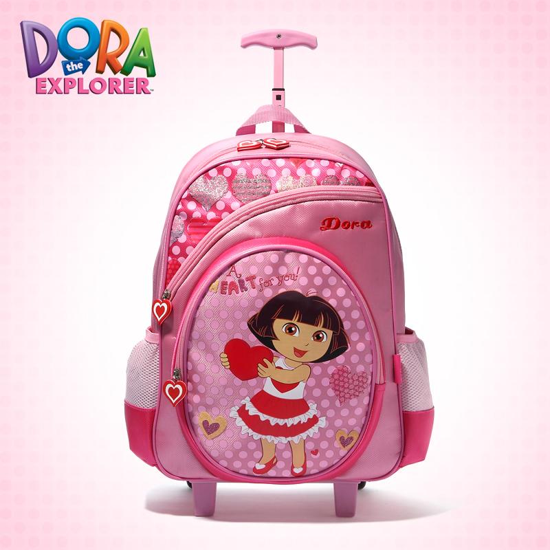 2013 dora l'exploratrice scolaire des enfants sacs chariot à bagages ...