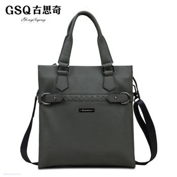 Gsq autumn new arrival man bag male casual elegant one shoulder handbag cross-body bag