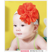 Sukerr 2013 lace big flower child headband baby infant hair accessory