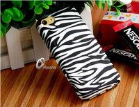 Zebra Print Plastic Case for iPhone 5C     LIP-3962D