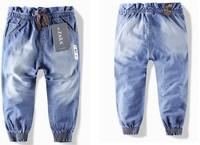 1pc New children 's jeans cotton Denim kids jeans girls pants baby trousers size:2/3t 3/4T 4/5T 5/6T 7/8T 9/10T