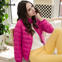Thin coat female spring and autumn 2013 women's top design short down coat female