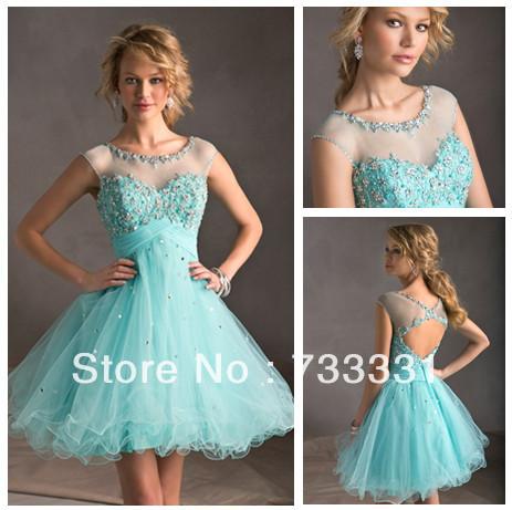 Modest Prom Dress With Sleeves - Ocodea.com