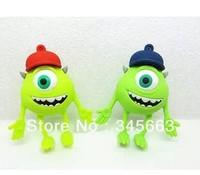 Cartoon One-eyed Monster Model USB 2.0 Flash Memory Pen Drive Stick 1-32GB