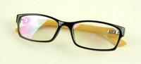 Small box bamboo mirror plain mirror male Women black-rimmed glasses a6801 17