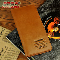 Discover gough 2012 winter male cowhide wallet fashion long design multi card holder wallet es048