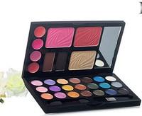 Hot Selling Cheek Cosmetics Palette Powder Cake 21Color Blush Eyeshadow Makeup Lip Gloss Kit Z0049